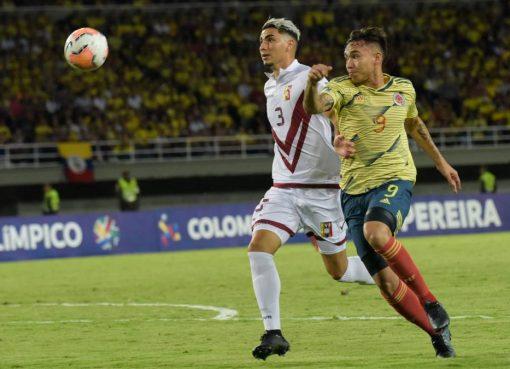 Colombia derrotó a Venezuela 2 -1 y sueña con Tokio 2020