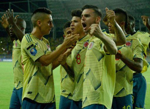 En el preolímpico, la selección Colomboa derrotó 4 x 0 a la selección de Ecuador