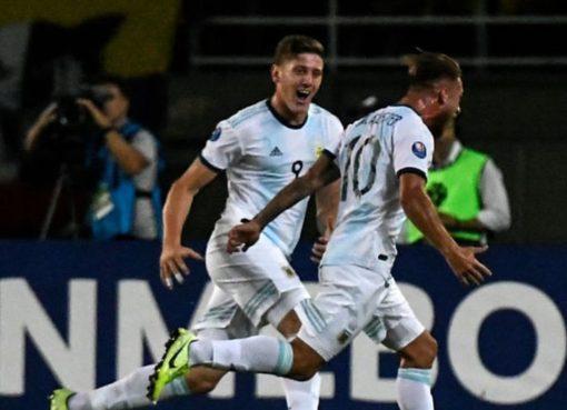 La selección Colombia a sub 23 perdió en el debut del Preolímpico frente a Argentina.