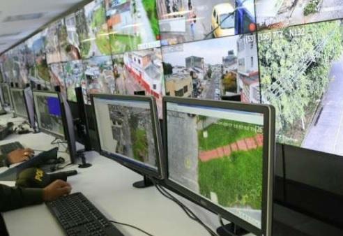 De 396 cámaras de seguridad que hay en Armenia, solo funcionan 86
