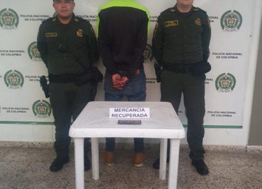 Las autoridades recuperaron un celular que estaba reportado como hurtado en Montenegro