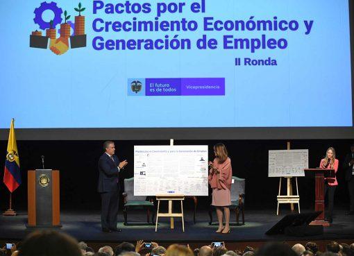 Duque destacó el crecimiento económico de Colombia pese a la crisis migratoria más grande que haya vivido América Latina