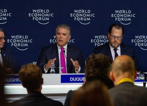 En el Foro Económico Mundial, Colombia es vista como un 'escenario atractivo para que se adelanten negocios en sectores estratégicos en América Latina'