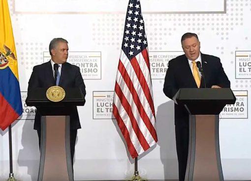 Mike Pompeo afirmó que Colombia es el aliado de la libertad en el hemisferio