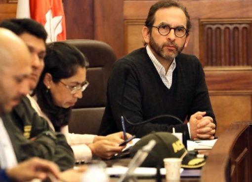 Minagricultura realizó un convenio con la Unidad Nacional de riesgo por 5.000 millones de pesos