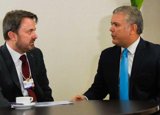 Primer Ministro de Luxemburgo anunció oportunidades de negocios en Colombia