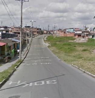 En el Barrio Simón Bolívar se presentó una balacera que dejó a dos menores de edad heridos