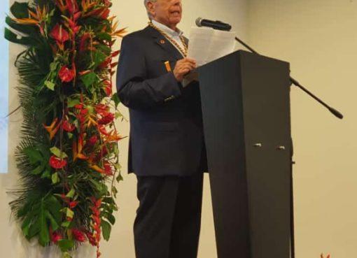 La Federación Colombiana de Fútbol hizo un reconocimiento Gustavo Moreno Jaramillo, en ceremonia realizada en Armenia.