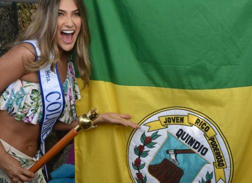 La señorita Colombia, la quindiana María Fernanda Aristizábal Urrea, estará en la Vitrina Turística de Anato.