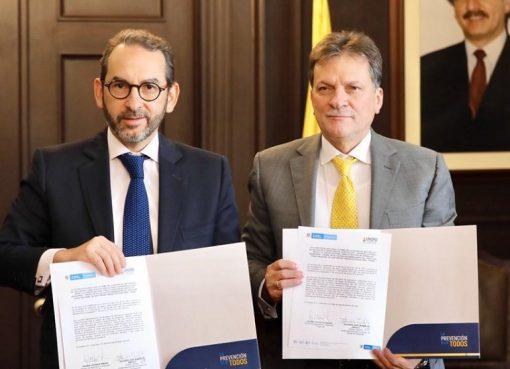Minagricultura firmó un convenio con la Unidad Nacional para la Gestión del Riesgo de Desastres por $6.000 millones