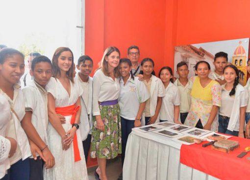 la Vicepresidenta Marta Lucía Ramírez continuó con la gira regional