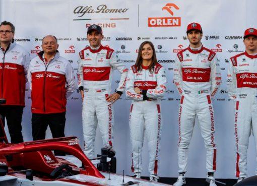 La colombiana Tatiana Calderón fue confirmada por el equipo Alfa Romeo Racing