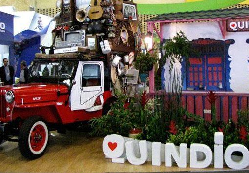 Ya está en Bogotá la delegación de quindianos que está participando en la Feria de Anato