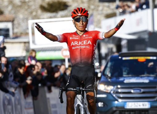 Nairo Quintana ganó el Tour los Alpes Marítimos