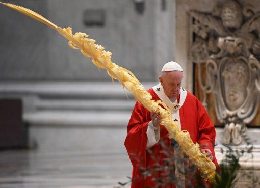 El Papa Francisco pidió valentía para enfrentar la pandemia de coronavirus
