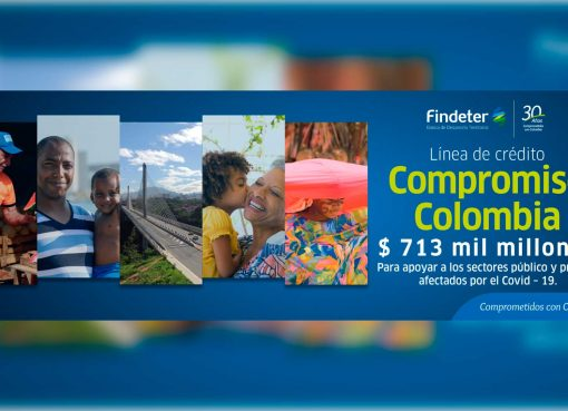 Findeter lanza línea de crédito por $713 mil millones para apoyar a los sectores público y privado afectados por el Covid-19