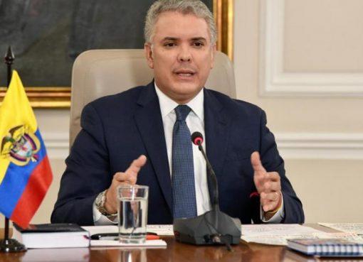 El Presidente de Colombia no descarta la posibilidad de ampliar el periodo de la cuarentena nacional.
