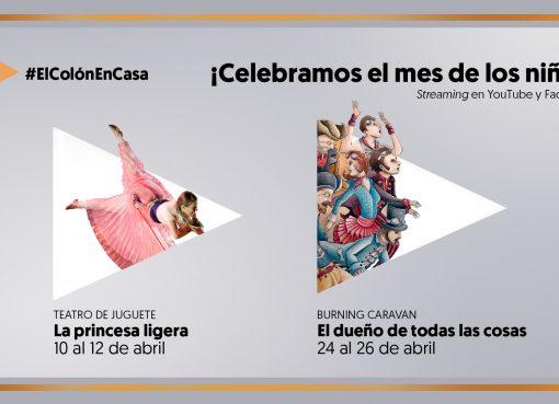 El teatro Colón celebra el mes de los niños con obra de teatro y musical online
