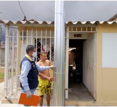La gobernación del Quindío entregó ayuda humanitaria a habitantes de Quimbaya afectados por vendaval