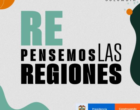 Hoy lanzamos #RePensemosLasRegiones! El nuevo Podcast de la Consejería para las Regiones con gobernadores, alcaldes y gestores de cambio.