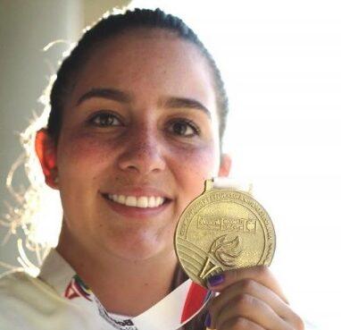 La arquera Sara López, fue elegida la deportista del mes por Juegos Mundiales