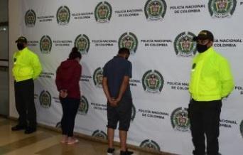 La Sijín en el Quindío logró la captura de dos personas quienes presuntamente estarían vinculados con la muerte de una docente en La tebaida