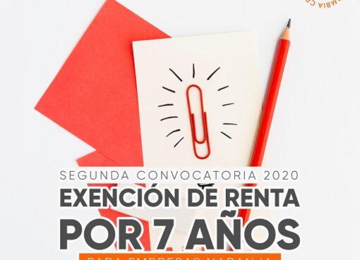 Hasta el 30 de julio estará abierta la convocatoria para empresas de Economía Naranja que estén interesadas en acceder al beneficio de exención de renta por siete años