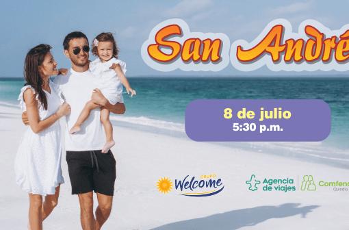 San Andrés, un paraíso esperando por tí. Conoce este mágico destino y gana un hospedaje por tres noches, con la Agencia de Viajes de Comfenalco