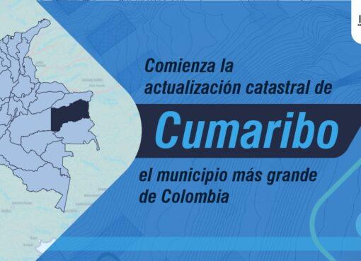 Desde el IGAC se dijo que se inició la actualización catastral del municipio más grande de Colombia