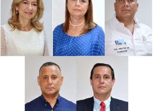 Alcaldesa encargada de Armenia, posesionó a nuevos secretarios de despacho