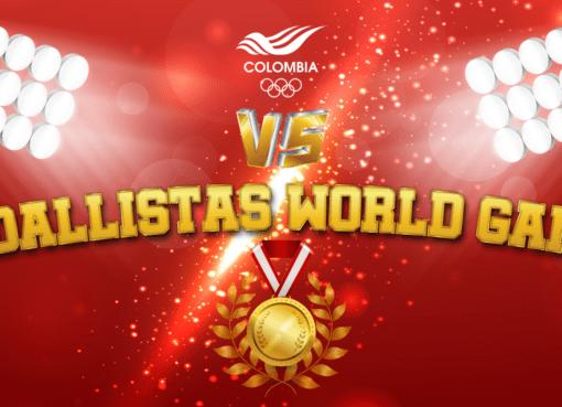 Los medallistas de World Games estarán en los versus de las redes sociales del @OlimpicoCol