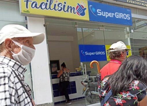 En Armenia faltan 8 adultos mayores por cobrar la nómina especial de vigencia expirada del subsidio Colombia Mayor