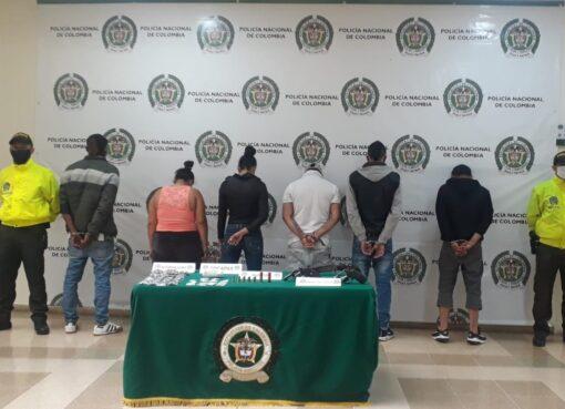 Fiscalía apeló las medidas no privativas de la libertad concedida a cuatro personas imputadas por delitos relacionados con microtráfico capturadas en Armenia