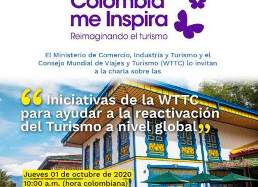 El Consejo Mundial de Viajes y Turismo presenta a Colombia estrategia para reactivar el sector