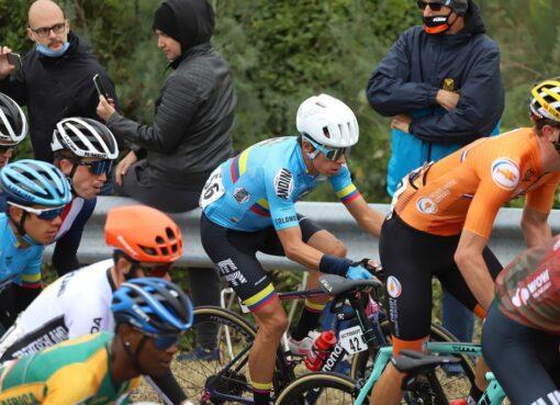 Los ciclistas colombinos fueron protagonismo en el Mundial de Ciclismo Ruta