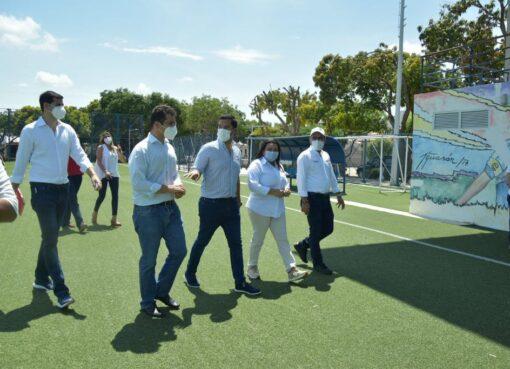 Autoridades deportivas inspeccionaron los escenarios para los XIX Juegos Bolivarianos Valledupar 2022