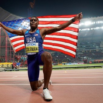 El campeón mundial de los 100 metros, fue suspendido dos años por dar positivo en una prueba de dopaje