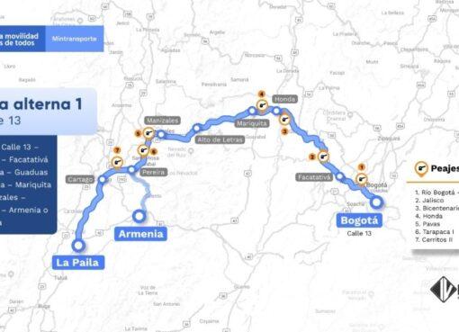 La vía Ibagué – Calarcá estará cerrada desde las 6:00 a.m., a 1:00 p.m por el paso de la epata del clásico RCN