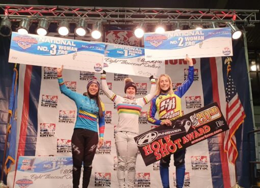 Colombia obtuvo Oro, plata y bronce en el Grands de BMX en Estados Unidos