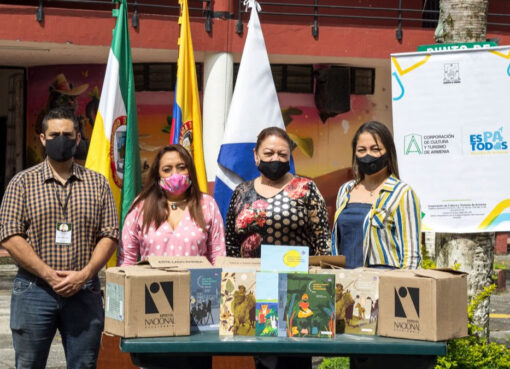 """Estudiantes de la Institución Educativa Ciudadela de Occidente, son beneficiarios del proyecto """"Leer es mi cuento en la biblioteca"""""""
