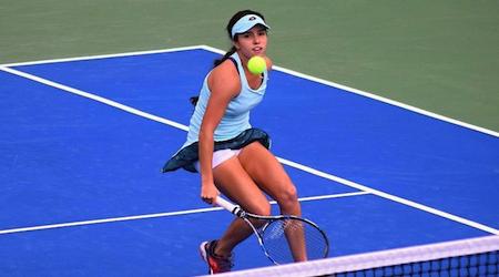 La tenista colombina María Osorio comenzó con victoria el W60 Rome, en EEUU