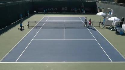 La tenista colombina María Camila Osorio, perdió frente a la francesa Clara Burel