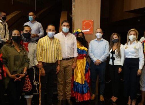 El Ministerio de Cultura suscribió el Compromiso ReactivARTE con Santander e inauguró ADN en Bucaramanga