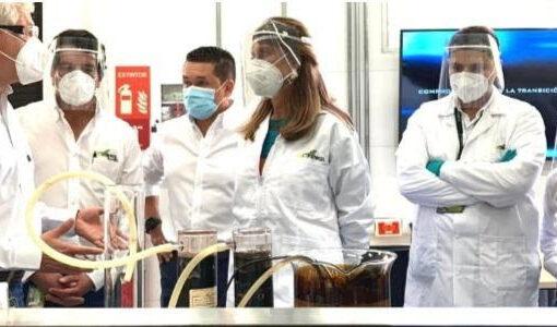 Vicepresidenta visitó el Centro de Innovación de Ecopetrol, donde se gestará la transición energética