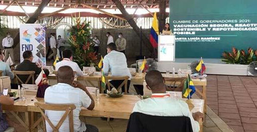 La Vicepresidenta del Republica, invita a los gobernadores a subir el nivel de inversiones