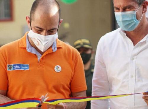 En el Departamento del Tolima se inauguraron dos Casas de la Cultura