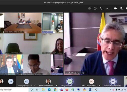 Cooperación entre Colombia y Argelia abre espacios para el desarrollo de mipymes