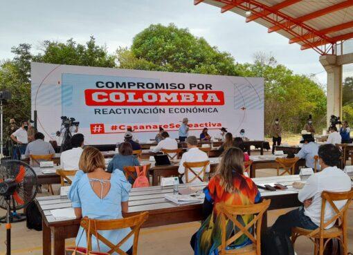 A $985 mil millones ascienden inversiones del 'Compromiso por Colombia' para la reactivación del Casanare