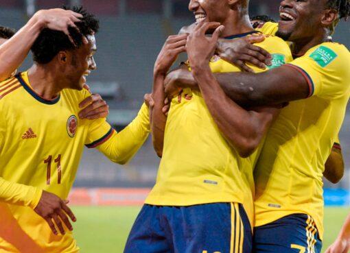 Colombia goleó a Perú 0 – 3
