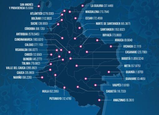 Récord de contagiados y muertes por Covid-19 en el país